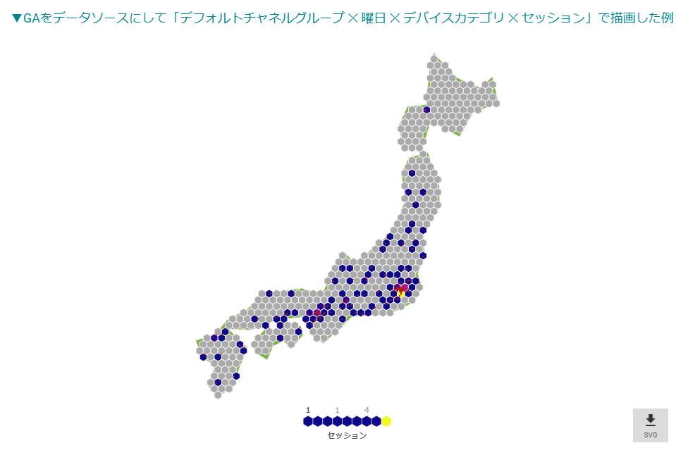 Hexbin Map
